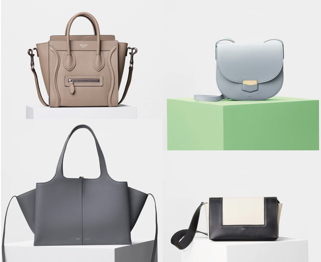 89228fb8c8 Céline Top Bag Styles And Their Prices