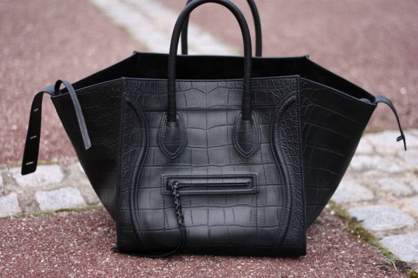 The Céline Phantom May Be One Of It Bags Placed At Rear End Price Spectrum But Does Not Slack Off When Comes To Quality